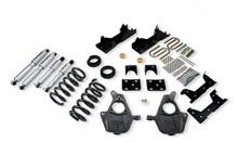 "2001-2006 Chevy Silverado 1500 2WD (Std Cab) 4/6"" Lowering Kit w/ Street Performance Shocks - Belltech 667SP"