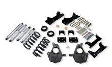 "2001-2006 GMC Sierra 1500 2WD (Std Cab) 4/6"" Lowering Kit w/ Street Performance Shocks - Belltech 667SP"