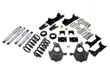 "2001-2006 Chevy Silverado 1500 2WD (Std Cab) 5/7"" Lowering Kit w/ Street Performance Shocks - Belltech 668SP"