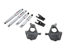 "2003-2007 Chevy Silverado SS 1500 2/2"" Lowering Kit w/ Street Performance Shocks - Belltech 678SP"