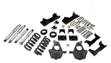 "1999-2000 GMC Sierra 1500 2WD (Std Cab) 4/6"" Lowering Kit w/ Street Performance Shocks - Belltech 665SP"