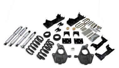 "1999-2000 GMC Sierra 1500 2WD (Std Cab) 4/6"" Lowering Kit w/ Street Performance Shocks - Belltech 665SP"