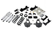 "1999-2000 Chevy Silverado 1500 2WD (Std Cab) 5/7"" Lowering Kit w/ Street Performance Shocks - Belltech 669SP"
