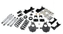 "1999-2000 GMC Sierra 1500 2WD (Std Cab) 5/7"" Lowering Kit w/ Street Performance Shocks - Belltech 669SP"