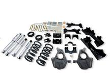 "1999-2000 Chevy Silverado 1500 2WD (Ext Cab) 4/6"" Lowering Kit w/ Street Performance Shocks - Belltech 680SP"
