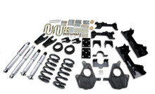 "1999-2000 Chevy Silverado 1500 2WD (Ext Cab) 5/7"" Lowering Kit w/ Street Performance Shocks - Belltech 681SP"