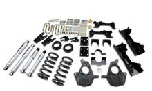 "1999-2000 GMC Sierra 1500 2WD (Ext Cab) 5/7"" Lowering Kit w/ Street Performance Shocks - Belltech 681SP"