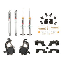 "2015-2020 Ford F150 (All Cabs / Short Bed) 5/6"" Lowering Kit w/ Street Performance Shocks - Belltech 1008SP"