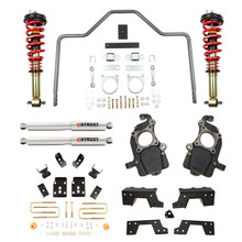 "2015-2020 Ford F150 2wd/4wd  5/6"" Lowering Kit w/ Adjustable Performance Coilovers - Belltech 1008HK"