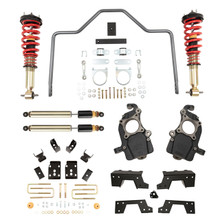 "2015-2020 Ford F150 2wd/4wd  5/6"" Performance Plus Lowering Kit w/ Adjustable Performance Coilovers - Belltech 1008HKP"