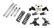 "1992-1998 Chevy C1500 2WD (Std Cab) 3/4"" Lowering Kit w/ Street Performance Shocks - Belltech 687SP"