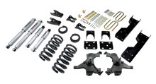 "1992-1998 Chevy C1500 2WD (Std Cab) 5/7"" Lowering Kit w/ Street Performance Shocks - Belltech 689SP"