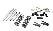 "1988-1998 GMC Sierra C1500 2WD (Ext Cab) 2-3/4"" Lowering Kit w/ Street Performance Shocks - Belltech 691SP"