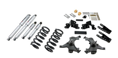 "1988-1998 Chevy C1500 2WD (Ext Cab) 3/4"" Lowering Kit w/ Street Performance Shocks - Belltech 692SP"
