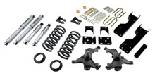 "1988-1998 Chevy C1500 2WD (Ext Cab) 5/6"" Lowering Kit w/ Street Performance Shocks - Belltech 693SP"