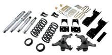 "1988-1998 Chevy C1500 2WD (Ext Cab) 5/6"" Lowering Kit w/ Street Performance Shocks - Belltech 693SP"
