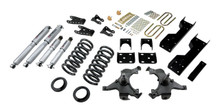 "1988-1998 Chevy C1500 2WD (Ext Cab) 5/7"" Lowering Kit w/ Street Performance Shocks - Belltech 694SP"