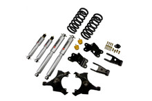 "1988-1991 Chevy C1500 2WD (Std Cab) 3/4"" Lowering Kit w/ Street Performance Shocks - Belltech 969SP"