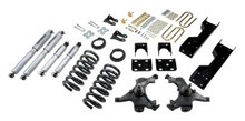 "1988-1991 Chevy C1500 2WD (Std Cab) 4/6"" Lowering Kit w/ Street Performance Shocks - Belltech 696SP"