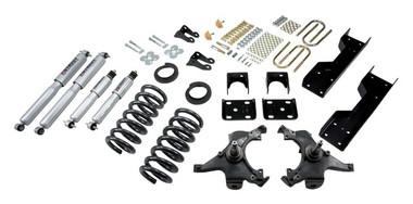 "1988-1991 Chevy C1500 2WD (Std Cab) 4/6"" Lowering Kit w/ Street Performance Shocks - Belltech 696SP"