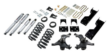 "1988-1991 GMC Sierra C1500 2WD (Std Cab) 4/6"" Lowering Kit w/ Street Performance Shocks - Belltech 696SP"