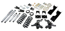 "1988-1991 Chevy C1500 2WD (Std Cab) 5/7"" Lowering Kit w/ Street Performance Shocks - Belltech 697SP"