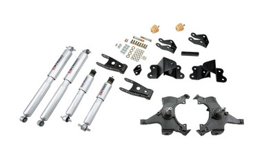 "1990-1994 Chevy C1500 SS454 2WD 2/4"" Lowering Kit  w/ Street Performance Shocks - Belltech 699SP"