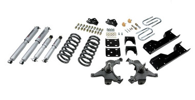 "1990-1994 Chevy C1500 SS454 2WD 4/6"" Lowering Kit  w/ Street Performance Shocks - Belltech 701SP"