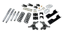 "1990-1994 Chevy C1500 SS454 2WD 4/7"" Lowering Kit  w/ Street Performance Shocks - Belltech 702SP"