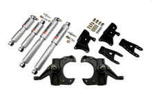 "1973-1987 Chevy C10 2WD (w/ 1"" Rotors) 3/4"" Lowering Kit  w/ Street Performance Shocks - Belltech 704SP"