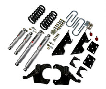 "1973-1987 Chevy C10 2WD (w/ 1"" Rotors) 4/6"" Lowering Kit  w/ Street Performance Shocks - Belltech 705SP"