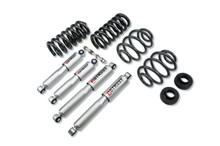 "1971-1972 Chevy C10 2WD 2/4"" Lowering Kit  w/ Street Performance Shocks - Belltech 710SP"