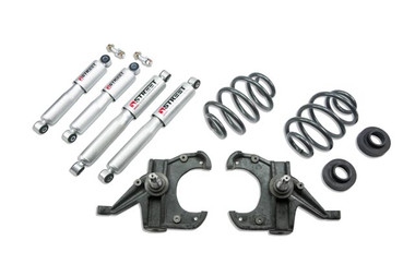 "1963-1970 Chevy C10 2WD 3/4"" Lowering Kit  w/ Street Performance Shocks - Belltech 955SP"