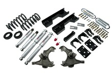 "1997-2000 Chevy C2500 / C3500 2WD 5/8"" Lowering Kit w/ Street Performance Shocks - Belltech 717SP"
