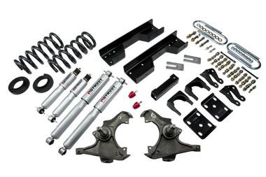 "1997-2000 GMC C2500 / C3500 2WD 5/8"" Lowering Kit w/ Street Performance Shocks - Belltech 717SP"