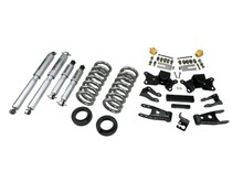 "1997-2000 Chevy C2500 2WD (Extended / Crew Cab) 2/4"" Lowering Kit w/ Street Performance Shocks - Belltech 718SP"