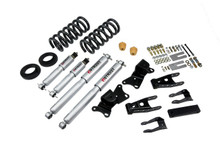 "1990-1996 GMC Sierra C2500/3500 & Dually 2WD (All Cabs) 2/4"" Lowering Kit w/ Street Performance Shocks - Belltech 720SP"
