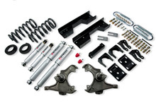 "1990-1996 GMC Sierra C2500 2WD (Extended Cab) 5/8"" Lowering Kit w/ Street Performance Shocks - Belltech 722SP"