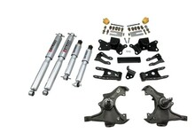 "1988 Chevy C3500 Crew Cab Dually 3/4"" Lowering Kit w/ Street Performance Shocks - Belltech 726SP"