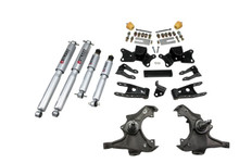"1988 GMC Sierra C3500 Crew Cab Dually 3/4"" Lowering Kit w/ Street Performance Shocks - Belltech 726SP"
