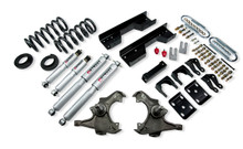 "1988 Chevy C3500 Crew Cab Dually 5/8"" Lowering Kit w/ Street Performance Shocks - Belltech 727SP"