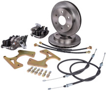 1963-1970 Chevy C10 Complete Rear 6 Lug Disc Brake Conversion Kit - C10RDBKIT