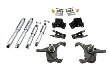 "1975-1991 Chevy C30 Crew Cab Dually 3/4"" Lowering Kit w/ Street Performance Shocks - Belltech 728SP"
