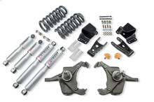"1975-1991 Chevy C30 Crew Cab Dually 4/4"" Lowering Kit w/ Street Performance Shocks - Belltech 967SP"