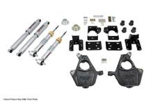 "2014-2018 GMC Sierra 1500 4wd (w/o Mag Ride) 2/4"" Lowering Kit w/ Street Performance Shocks - Belltech 1017SP"