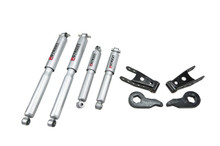 "1988-1998 GMC Sierra K1500 (4wd) 2/2"" Lowering Kit w/ Street Performance Shocks - Belltech 729SP"