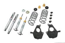 "2007-2013 GMC Yukon (Without Autoride) 2/4"" Lowering Kit w/ Street Performance Shocks - Belltech 739SP"