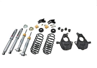 "2007-2013 GMC Yukon XL (Without Autoride) 2/4"" Lowering Kit - Belltech 753SP"