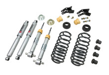 "2007-2013 Chevy Suburban (Without Autoride) 1/3"" Lowering Kit w/ Street Performance Shocks - Belltech 752SP"