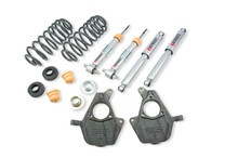 """2007-2013 Chevy Avalanche (Without Autoride) 2/3"""" Lowering Kit w/ Street Performance Shocks - Belltech 747SP"""
